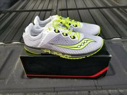 Saucony A8 Running Racing Shoes Sneakers Mens 10.5 Citron S2