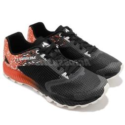 Merrell All Out Crush 2 Black Spicy Orange Men Running Shoes