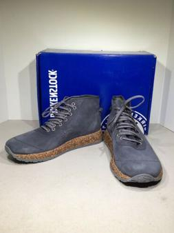 Birkenstock Atlin Women So 6/Men 4/EU 37 Reg Gray Suede Wedg