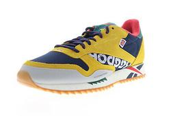 Reebok Classic Leather Ripple Altered DV7194 Mens Yellow Low