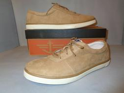 Docker's Mens Beige Leather Suede Auvy Sneaker Shoes NIB New