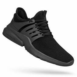 Feetmat Men's Non Slip Gym Sneakers Lightweight Breathable A