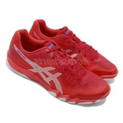 Asics Gel-Blade 6 Red Silver Men Badminton Volleyball Shoes