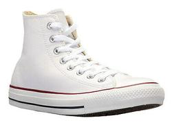 Converse Hi Tops White Leather Mens Sneakers Tennis Shoes 13
