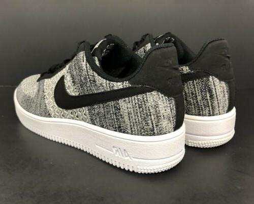 Nike Force Flyknit Sneakers AV3042-001 Oreo 9.5