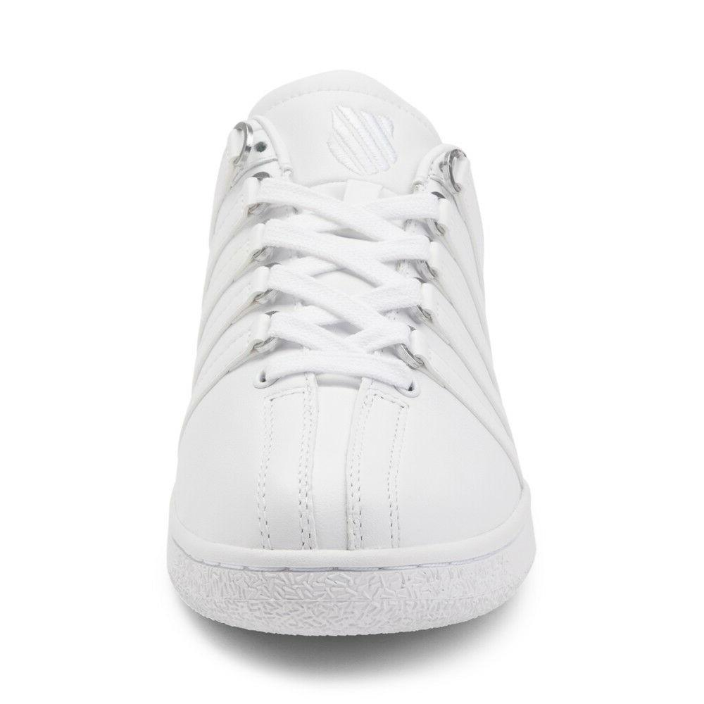 03343-101M White Leather Shoes
