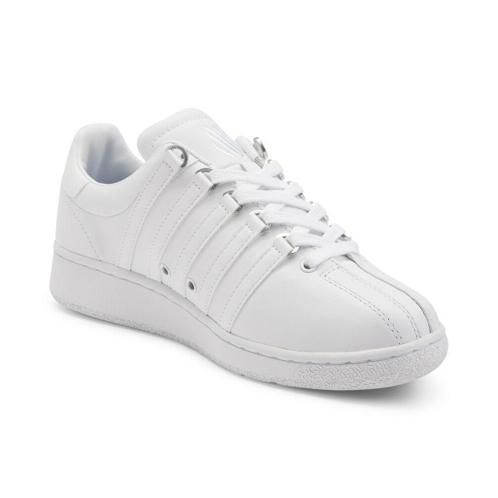 K Classic VN 03343-101M White Leather Shoes