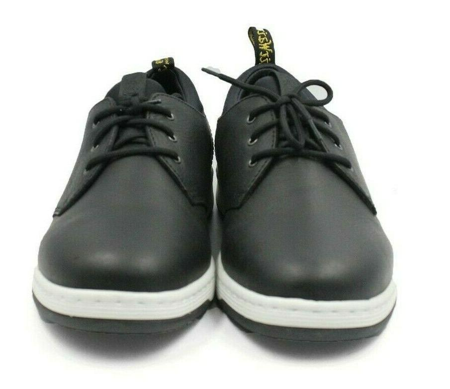 DR. Leather Black Sneakers Men's 12 - NEW Auth