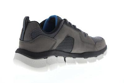 52845 Gray Mesh Casual Shoes