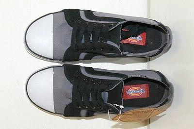 DICKIES gray canvas mens sneakers size