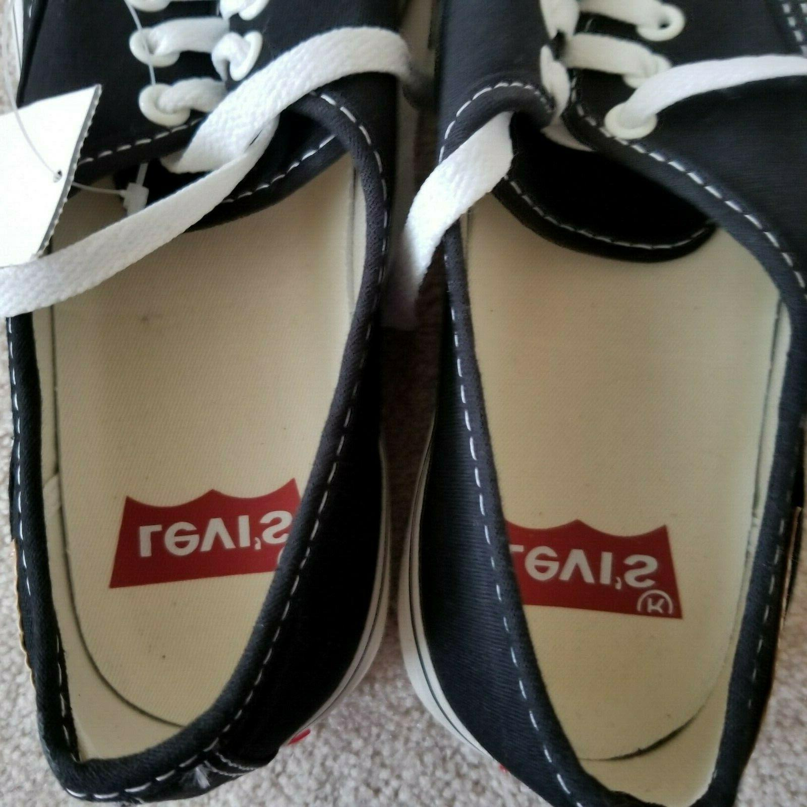 Levi's Canvas Shoes Lace Men's Size