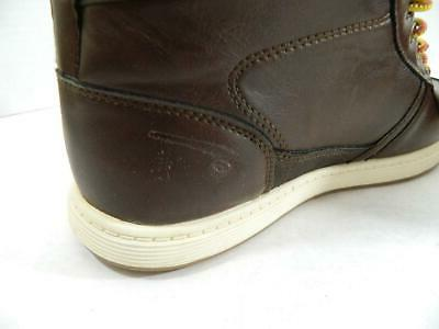 Levi's Brown Stanton Burnish Sneakers Shoes NIB Size MSRP $60 A1