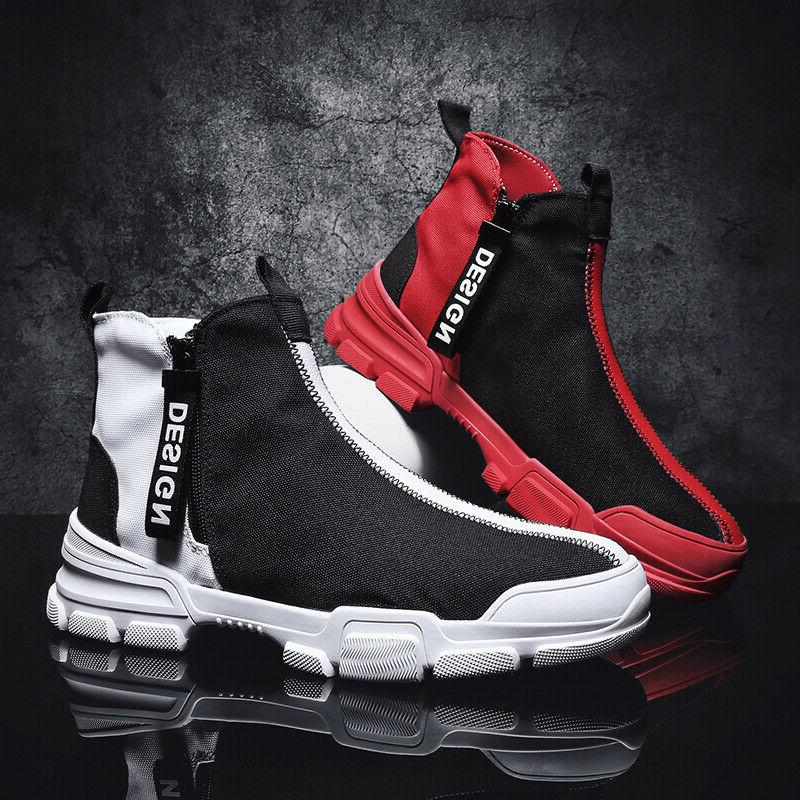 Men's Casual Shoes Sneakers Athletic Leisure High Top