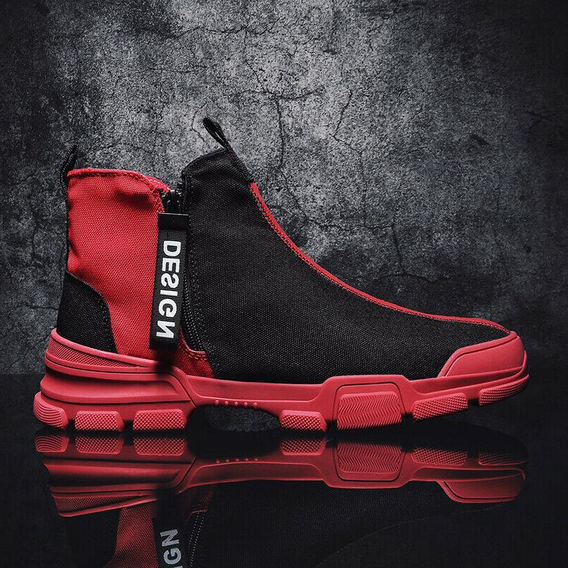 Men's Casual Athletic Leisure Sports Fashion High