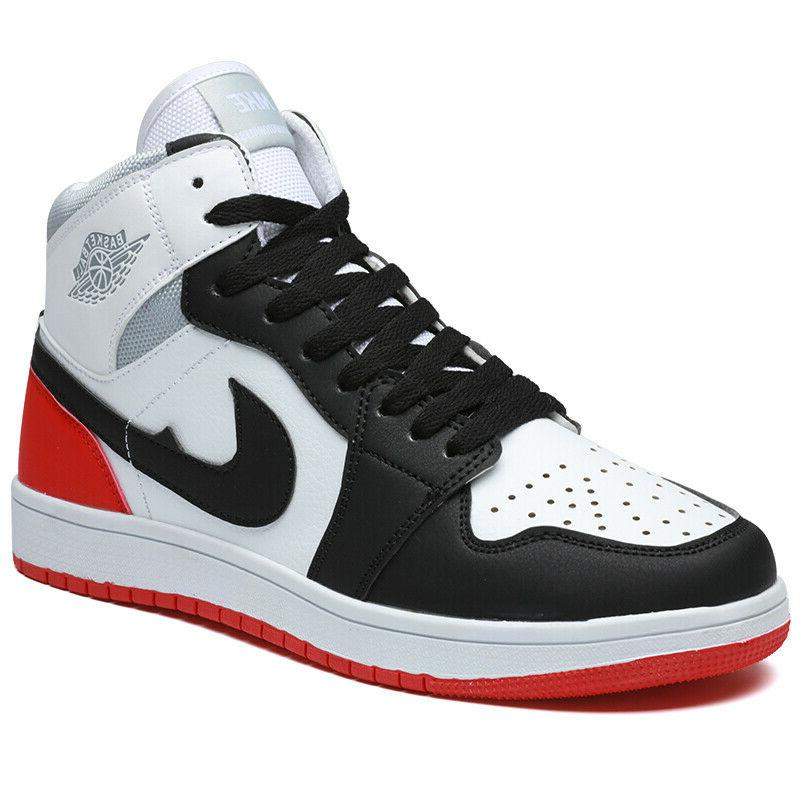 Men's High Top Basketball Casual Running Board Shoe Air 1 Athletic