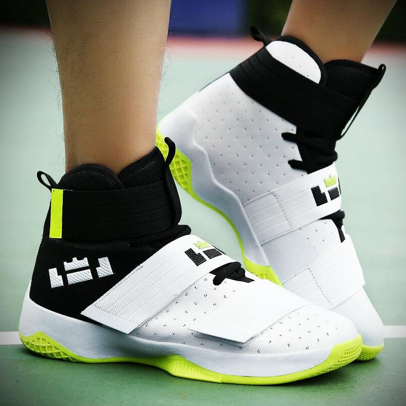 Men's Sneakers High Basketball Fashion Performance Athletic Sneakers