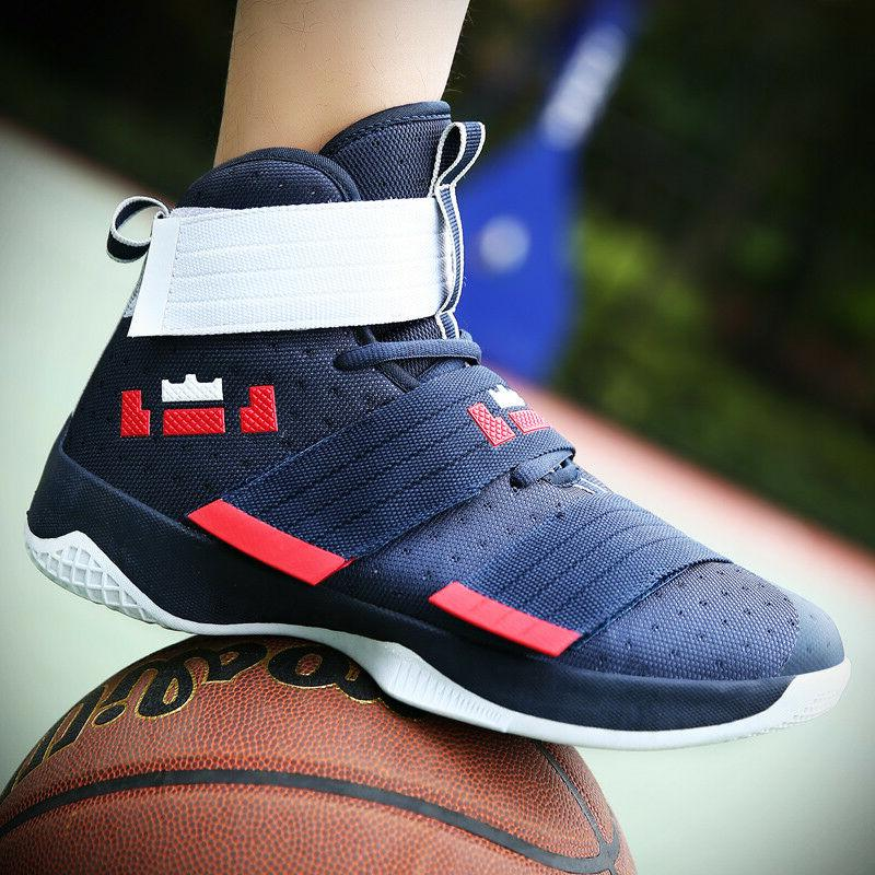 Men's High Basketball Fashion Athletic Sneakers