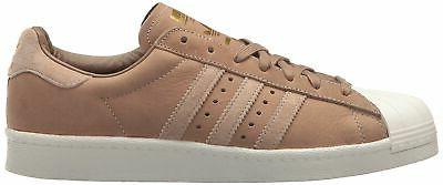 adidas Men's Superstar Foundation Casual Sneaker, Brown/Trace