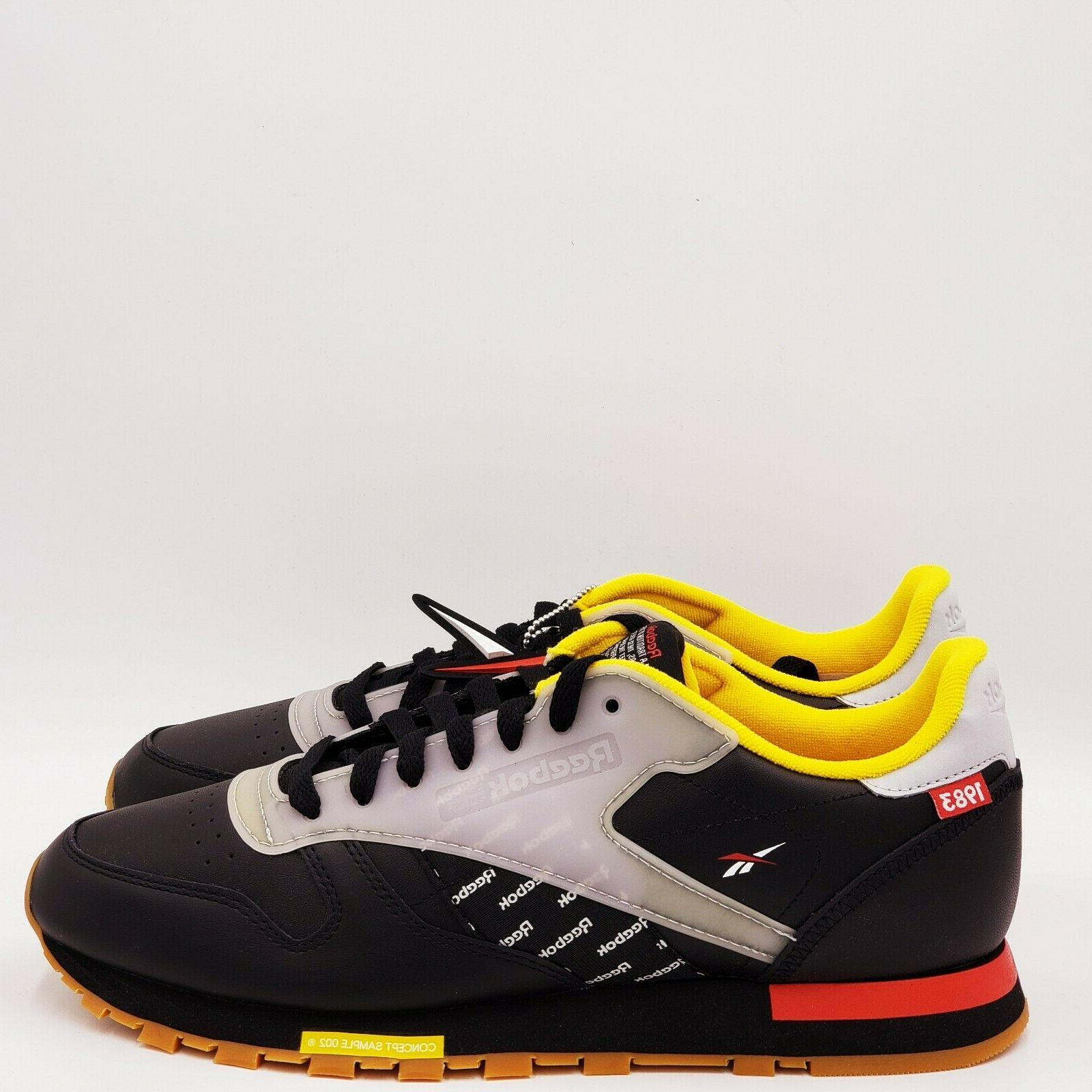 mens classic leather sizes 8 and 10