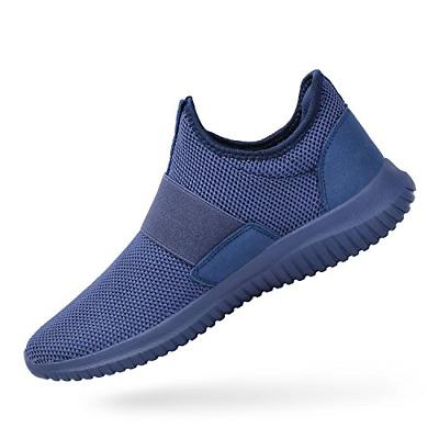 mens gym shoes no lace slip on