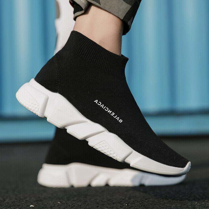 Men's Sneakers Casual Size 8 9 11 Socks Shoes