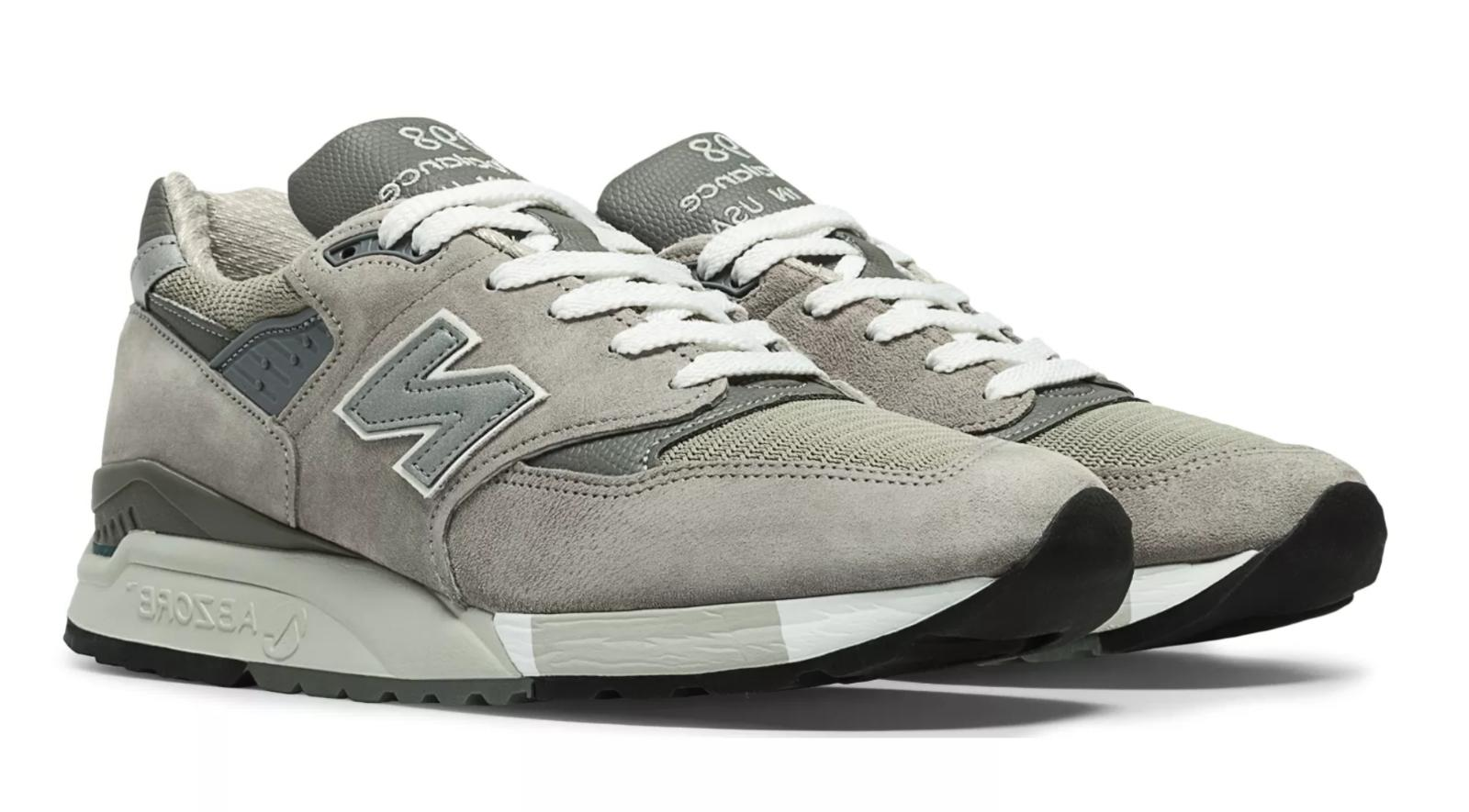 New Men's New Balance 998 USA Shoes Sneakers 11.5
