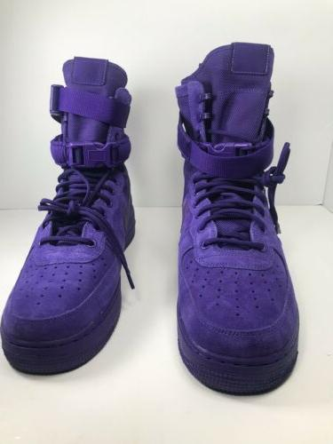 Nike SF Force 1 13 Shoes 864024 Court Purple Mens