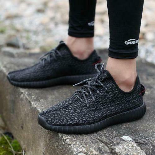 Size 7-12 Mens Casual Flyknit Sneakers Shoes Athletic Fitnes