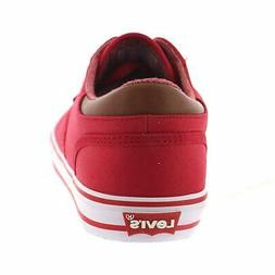 Levi's¿ Shoes Men's Ethan CT CVS II, Red, Size 10.5 ii6S