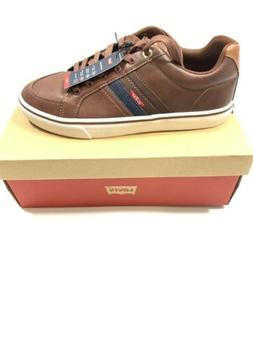 Levi's Turner Nappa Sneakers Tan/Brown, Size 9, Men Shoes