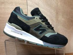 "New Balance M997PAA Made in USA ""Military Pack"" Black/Green"
