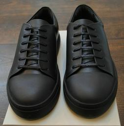 COS men's black lace-up sneakers price tag $135 size 10 bran