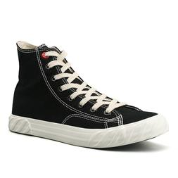 Men's Classic Trainer High Top Shoes Lace Up Casual Canvas S