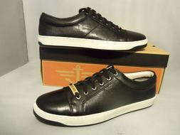 Men's Docker Leather Black/White Sneakers/Shoes NIB New Size