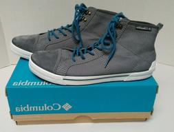 Columbia Men's Goodlife Gray Canvas High Top Sneakers Shoes