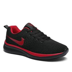 Men's Running Shoes Fashion Sports Sneakers Flyknit Casual B