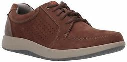CLARKS Men's Shoda Walk Waterproof Sneaker, Brown  - Choose