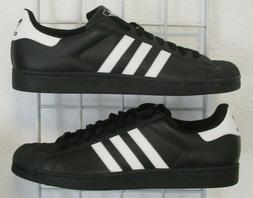 Men's Adidas Superstar Classic Sneakers, New Blk White Sport