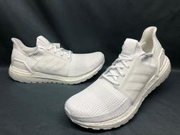 Adidas Men's UltraBOOST 19 Running Sneakers White White Size