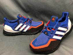 Adidas Men's UltraBOOST 2.0 Running Sneakers Blue White Red