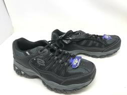 Mens Skechers  AFTER BURN MEMORY FIT extra wide sneakers
