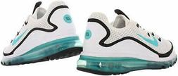 Nike Mens nike air max Low Top Lace Up Fashion Sneakers, Whi