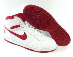 Mens Big Nike High 336608 160 White Red Leather 2016 Deadsto