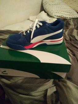 Mens blue,white and red Puma Palce OG sneakers size 10.5
