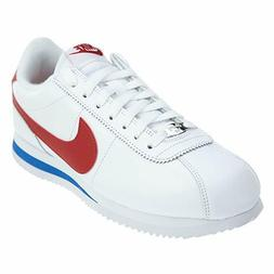 NIKE MENS CORTEZ BASIC LEATHER OG CASUAL SNEAKERS #882254-16