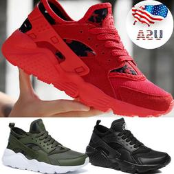 Mens Flyknit Casual Breathable Shoes Sports Running Athletic