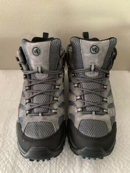 Merrell Men's Moab 2 Vent Mid Sneakers, Hiking Shoes, Cast