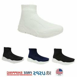 Mens Fashion Sock Sneakers Breathable Comfort Lightweight So