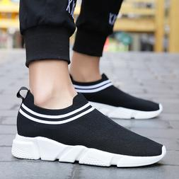 Mens Running Socks Shoes Gym Sports Sneakers Lightweight Ath