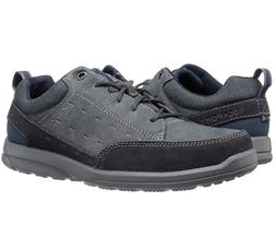 Rockport Mens Rydley Lace Up Fashion Sneaker, New Dress Blue